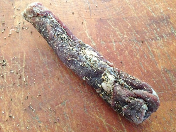 Accidental Locavore Saucisson Sec