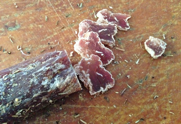 Accidental Locavore Sliced Saucisson