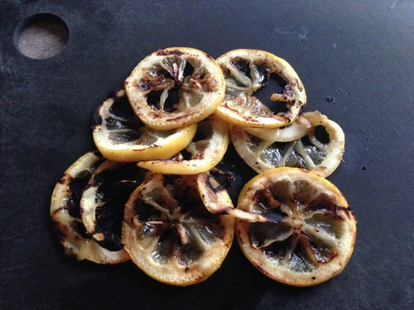Accidental Locavore Grilled Lemon Slices