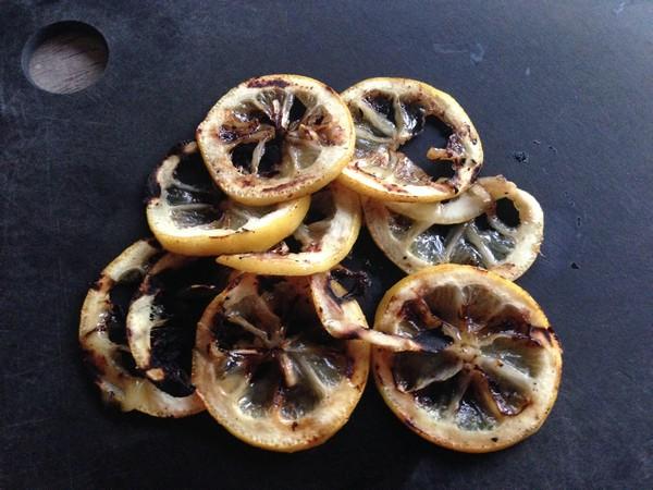 Accidental Locavore Grilled Lemon Slices