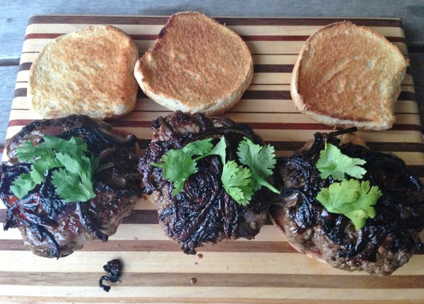 Accidental Locavore Grilled Lamb Burgers