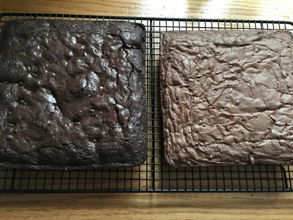 Accidental Locavore Baked Brownies