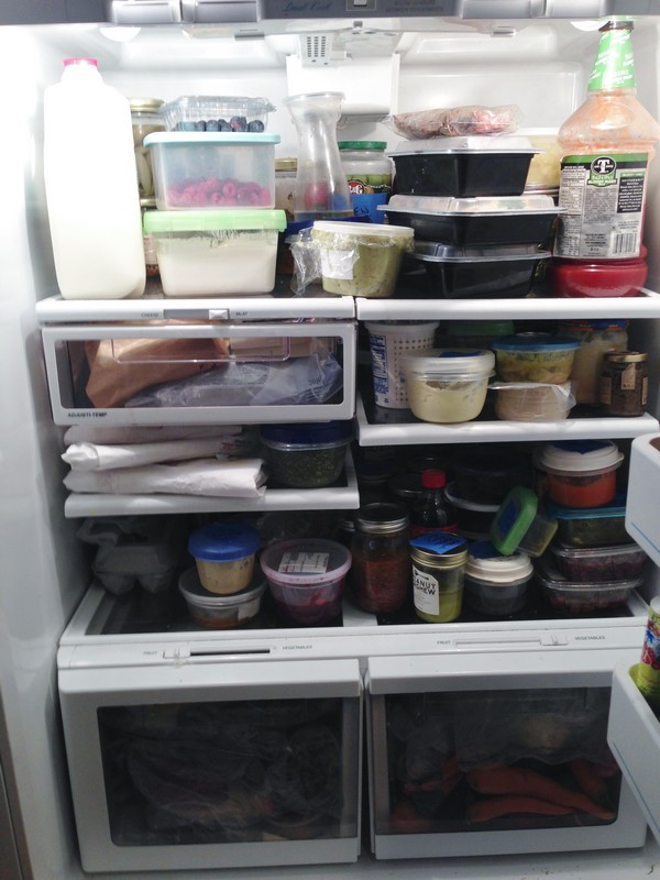 Accidental Locavore Fridge Interior