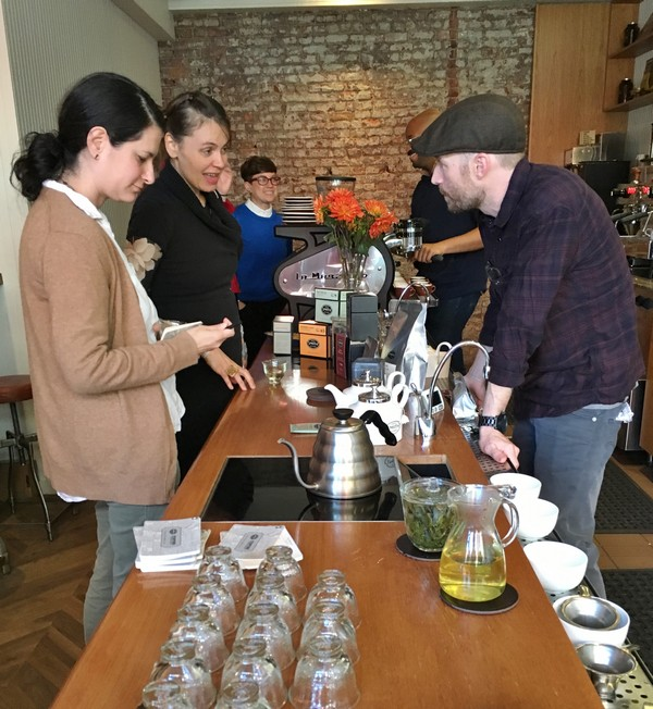 Accidental Locavore Tea Tasting