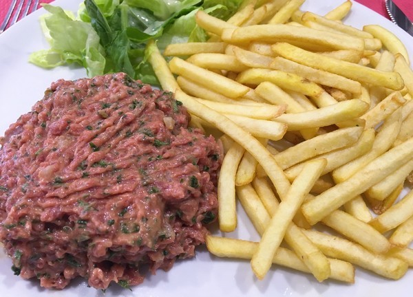 Accidental Locavore Steak Tartare in Antibes