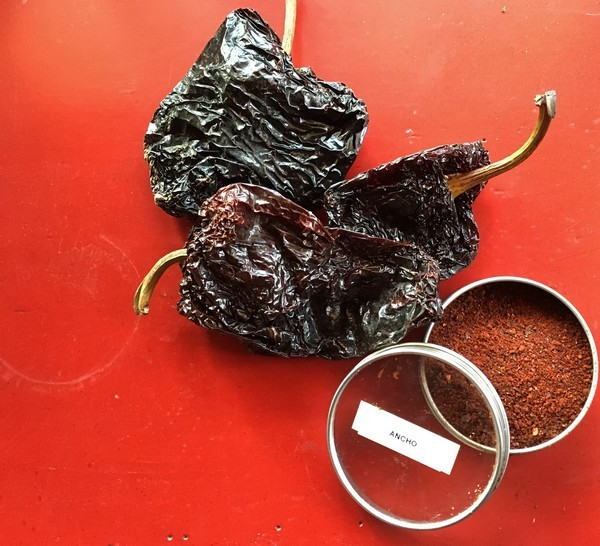 Accidental Locavore Ancho Chile Powder