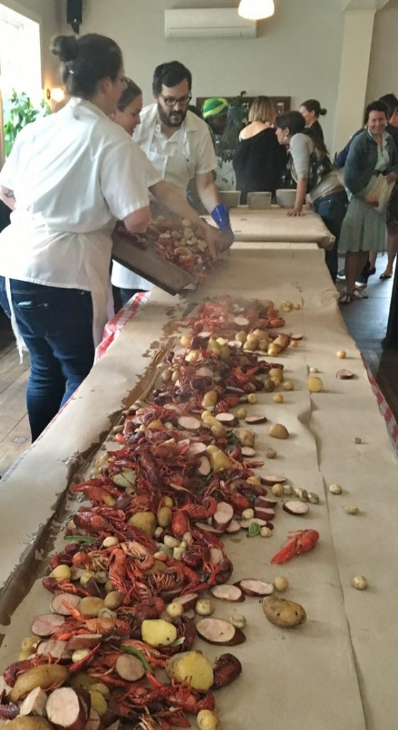 Accidental Locavore Crawfish Boil