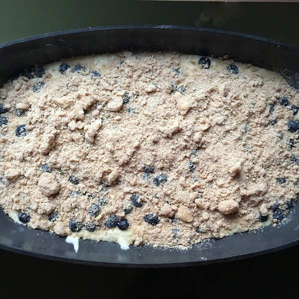 Accidental Locavore Blueberry Breakfast Casserole