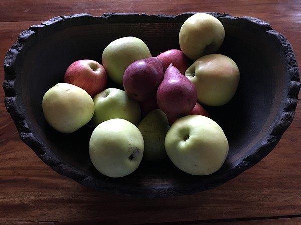 accidental-locavore-farmers-market-apples-and-pears
