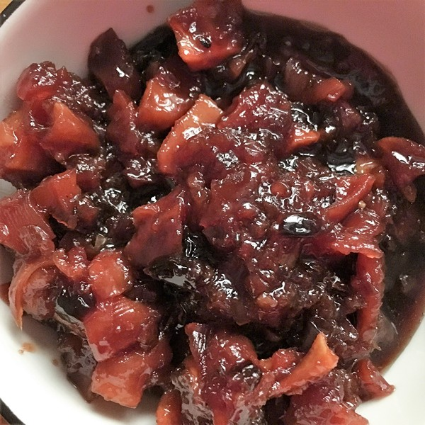 Accidental Locavore Quince Chutney