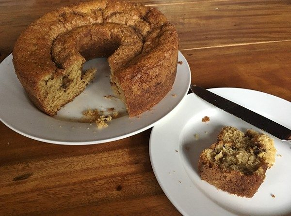 Accidental Locavore Sour Cream Coffee Cake