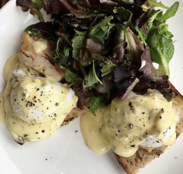 Accidental Locavore Eggs Benedict Brunch