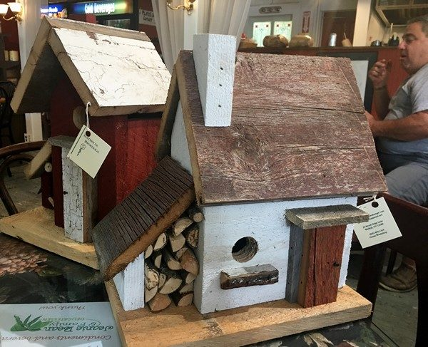 Accidental Locavore Birdhouses at Jeanie Beans