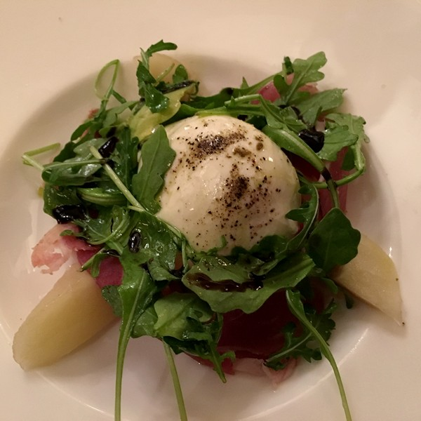 Accidental Locavore Burrata for Hudson Valley Restaurant Week