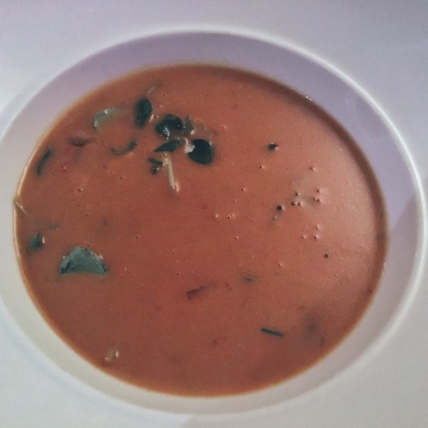 Accidental Locavore Lobster Bisque for Hudson Valley Restaurant Week