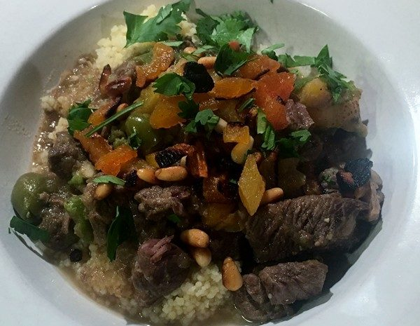 Accidental Locavore Lamb Tagine