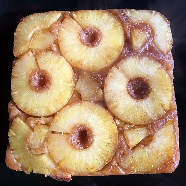 Accidental Locavore Pineapple Upside-Down Cake