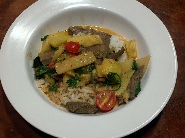 Accidental Locavore Thai Duck Curry