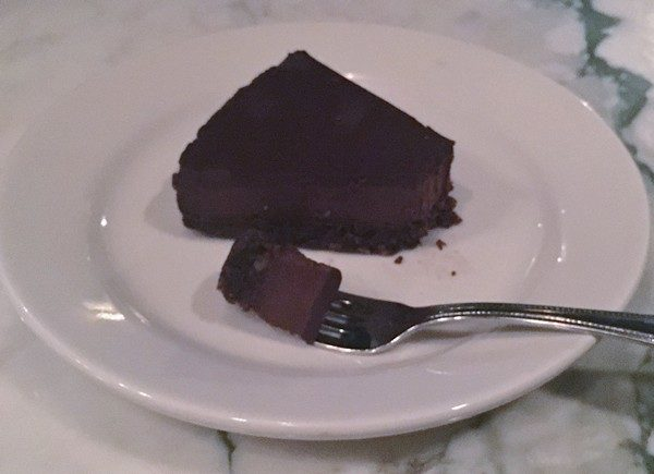 Accidental Locavore Silvia Restaurant Chocolate Torte