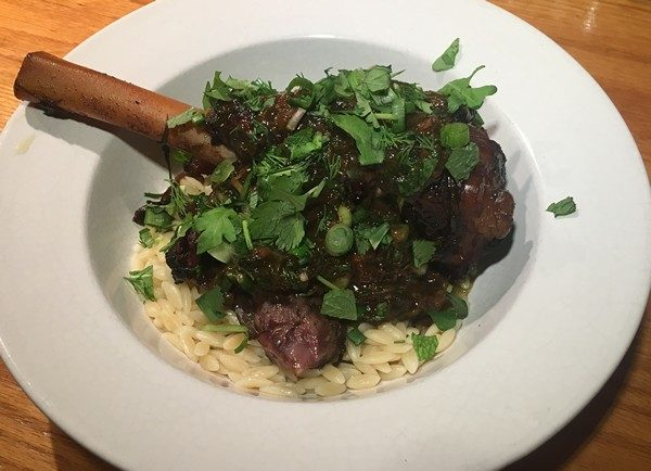 Accidental Locavore Insta-Pot Lamb Shank With Herbs