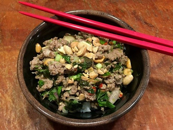 Accidental Locavore Lamb Larb
