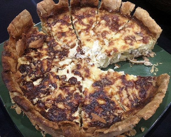 Accidental Locavore Pasta Class Quiche