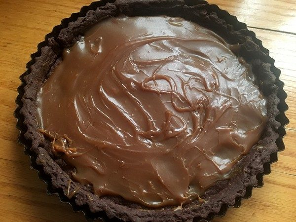 Accidental Locavore Salted Caramel Chocolate Tart Filling