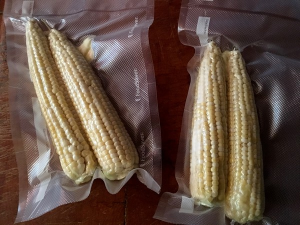 Accidental Locavore Corn for Sous Vide
