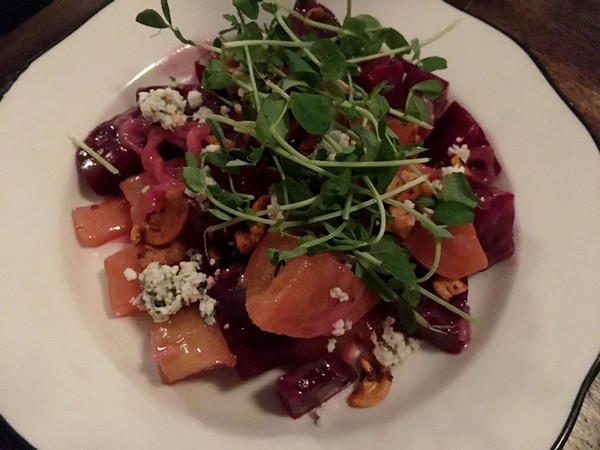 Accidental Locavore Dutch Ale House Beet Salad