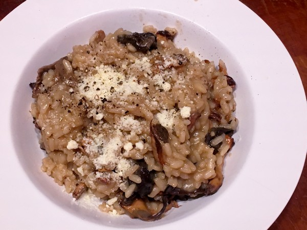 Accidental Locavore Wild Mushroom Risotto