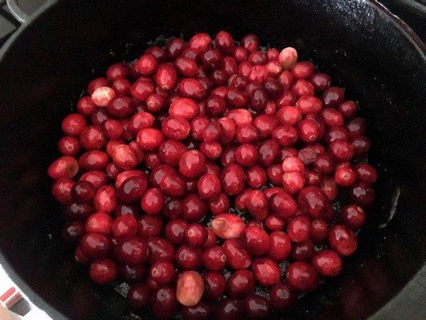 Accidental Locavore Cranberry