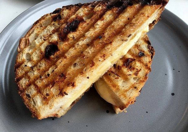 Accidental Locavore Pawling Bread Grilled Cheese