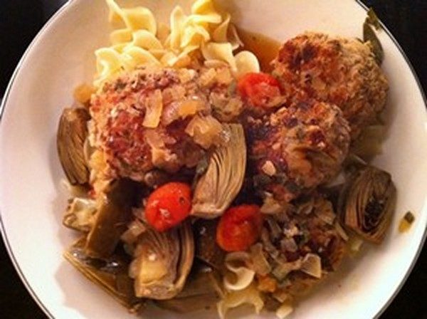 Accidental Locavore Veal Meatballs