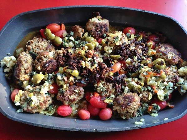 Accidental Locavore Veal Meatballs With Olives