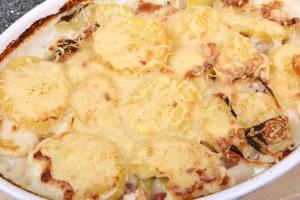 Accidental Locavore Potato Gratin