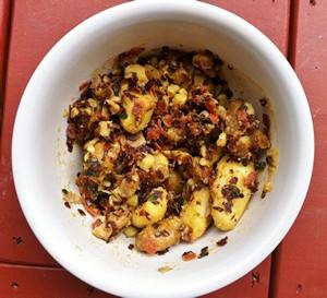 Accidental Locavore Potato Salad With Pepperoni