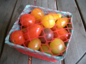 Accidental Locavore Box of Cherry Tomatoes