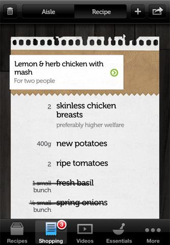 Accidental Locavore Jamie Oliver App