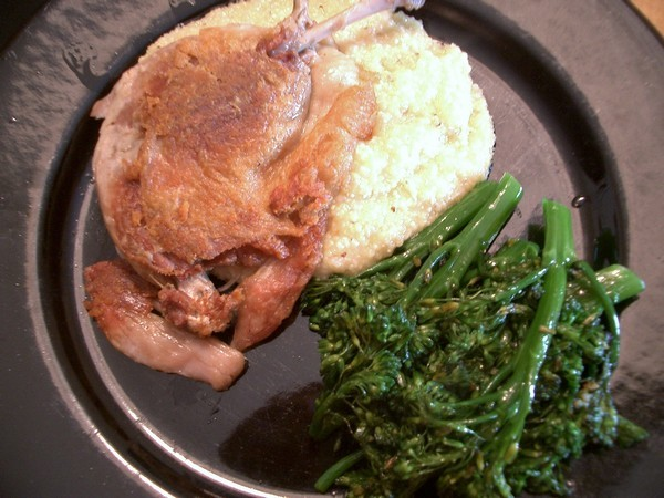 Accidental Locavore Duck Confit With Polenta