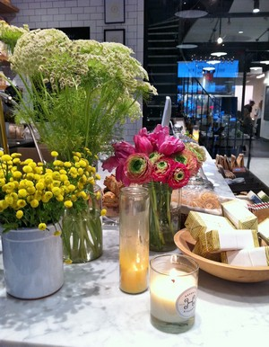 Accidental Locavore Flowers at Havens Kitchen