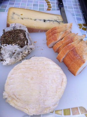 Accidental Locavore French Cheeses