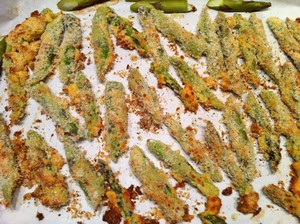 Accidental Locavore Asparagus Fries