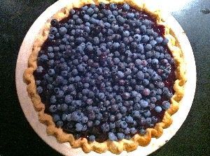 Accidental Locavore Raspberry Blueberry Pie
