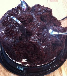 Accidental Locavore Sandra Lees Cake