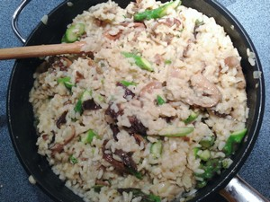 Accidental Locavore Mushroom Risotto