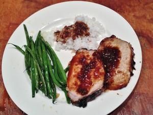 Accidental Locavore Rotisserie Pork Loin