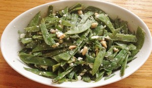 Accidental Locavore Snow Pea Salad