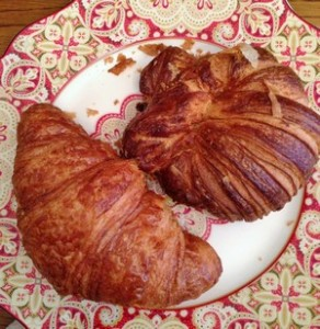 Accidental Locavore Deux Croissants