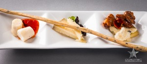 Cheese Course, Hannabells, Tarentaise, Middlebury blue,