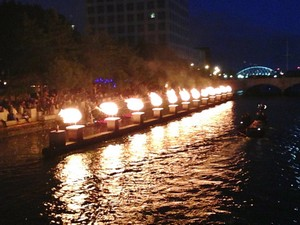 Accidental Locavore Waterfire